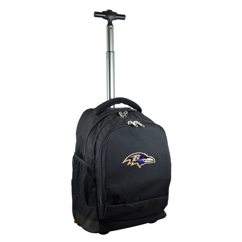 Baltimore Ravens Premium Wheeled Backpack