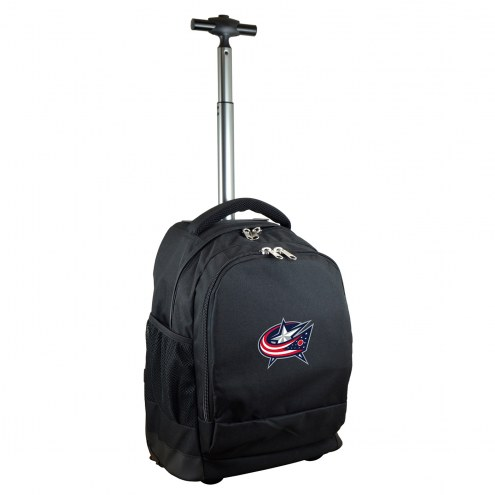 Columbus Blue Jackets Premium Wheeled Backpack