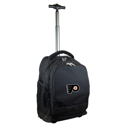 Philadelphia Flyers Premium Wheeled Backpack