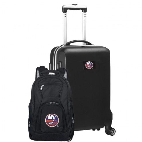 New York Islanders Deluxe 2-Piece Backpack & Carry-On Set