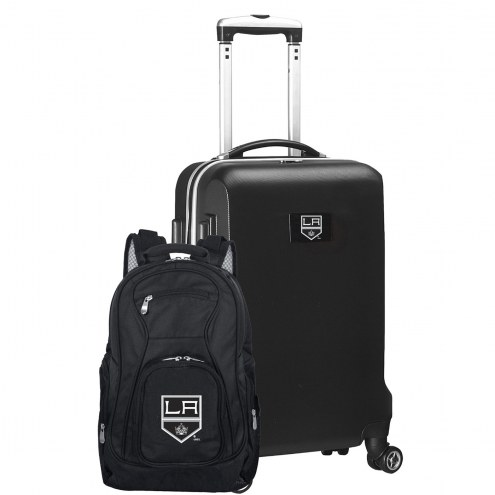 Los Angeles Kings Deluxe 2-Piece Backpack & Carry-On Set