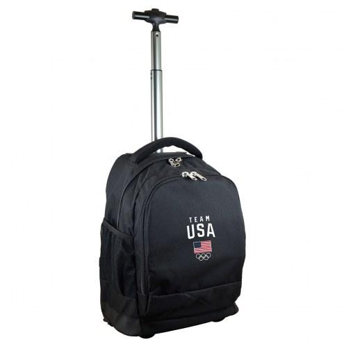 Team USA Premium Wheeled Backpack