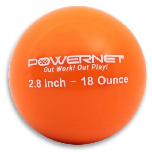 PowerNet Heavy Weighted Training Ball 6 Pack - 2.8 Inches
