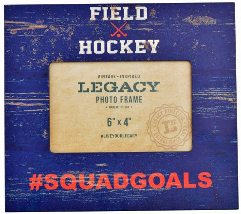 Field Hockey #Squadgoals 4x6 Picture Frame