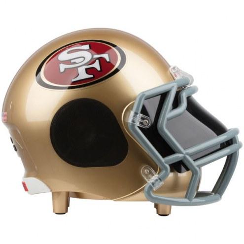 San Francisco 49ers Bluetooth Helmet Speaker