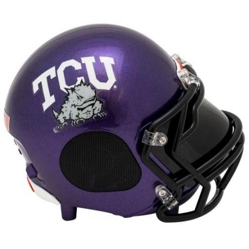 Texas Christian Horned Frogs Bluetooth Helmet Speaker