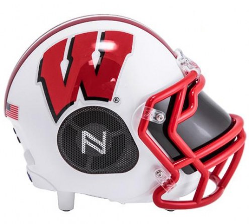 Wisconsin Badgers Bluetooth Helmet Speaker