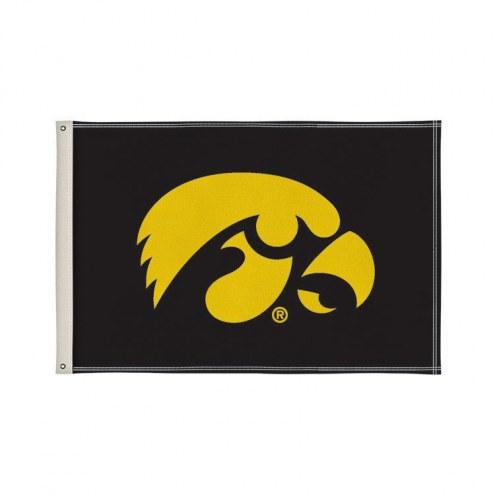 Iowa Hawkeyes 2' x 3' Flag