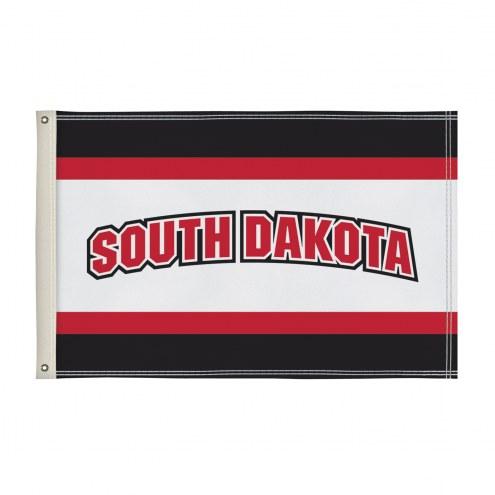 South Dakota Coyotes 2' x 3' Flag