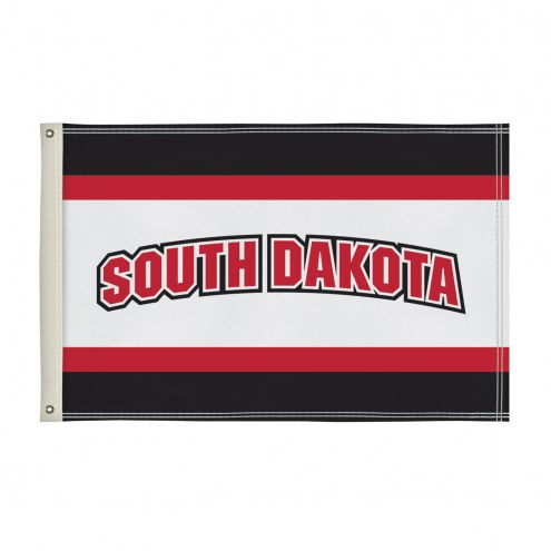 South Dakota Coyotes 2' x 3' Flag