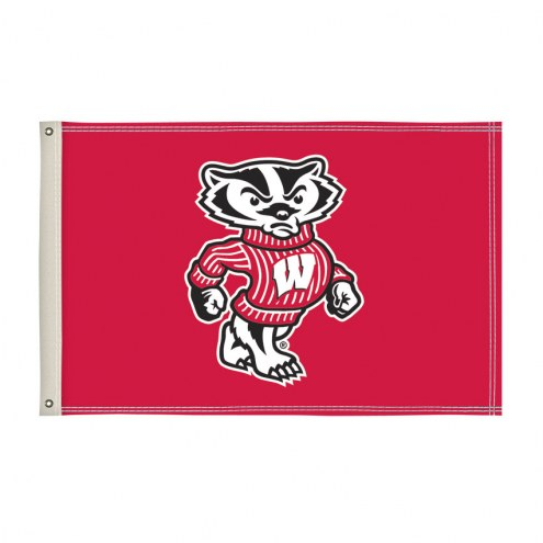 Wisconsin Badgers 2' x 3' Flag