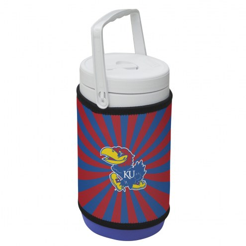 Kansas Jayhawks Rappz 1/2 Gallon Cooler Cover (Cooler not included)