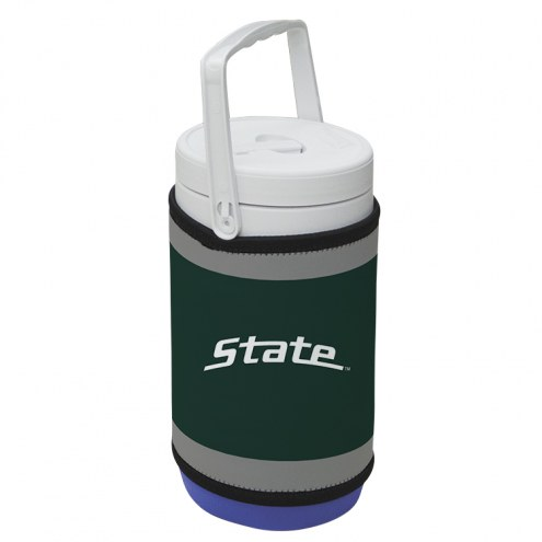 Michigan State Spartans Rappz 1/2 Gallon Cooler Cover (Cooler not included)