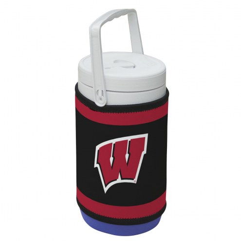 Wisconsin Badgers Rappz 1/2 Gallon Cooler Cover (Cooler not included)
