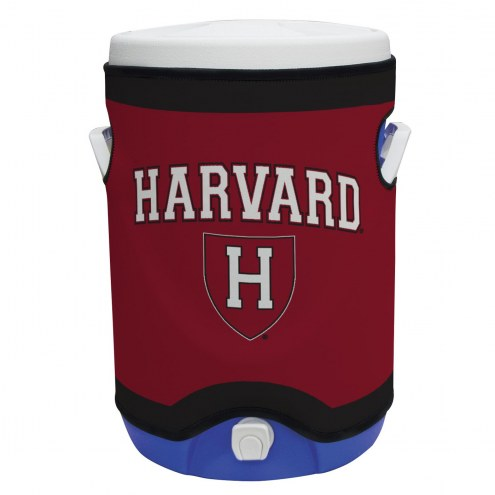Harvard Crimson Rappz 5 Gallon Cooler Cover (Cooler not included)