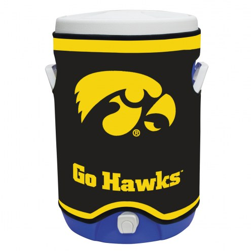 Iowa Hawkeyes Rappz 5 Gallon Cooler Cover (Cooler not included)