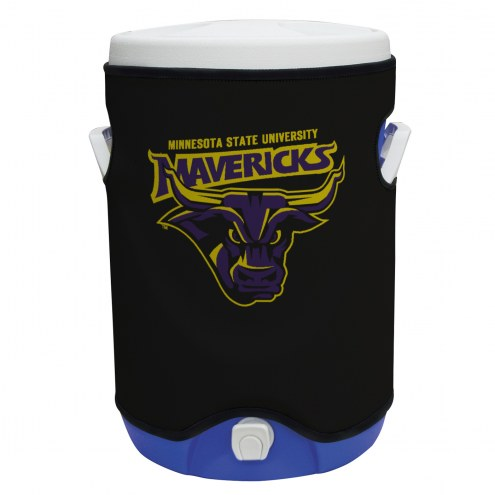 Minnesota State Mavericks Rappz 5 Gallon Cooler Cover (Cooler not included)