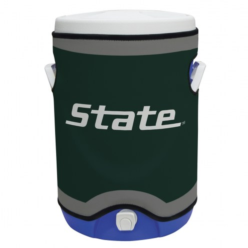 Michigan State Spartans Rappz 5 Gallon Cooler Cover (Cooler not included)