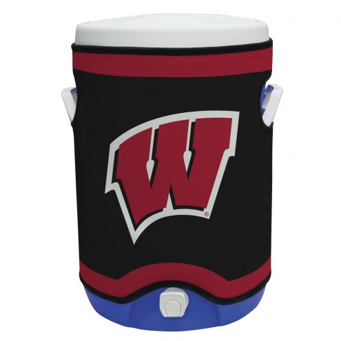 Wisconsin Badgers Rappz 5 Gallon Cooler Cover (Cooler not included)