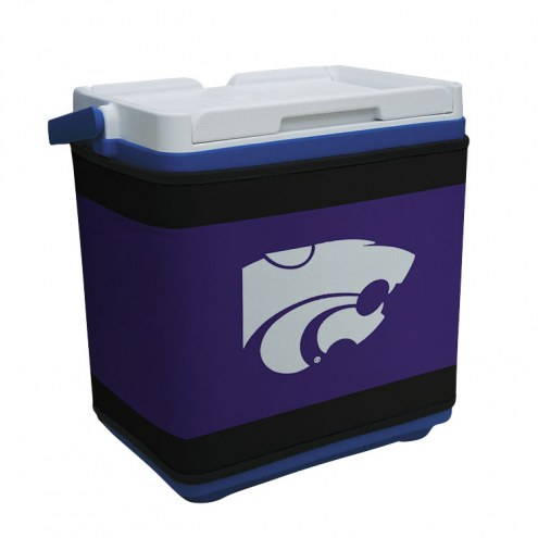 Kansas State Wildcats Rappz 18qt Cooler Cover (Cooler not included)