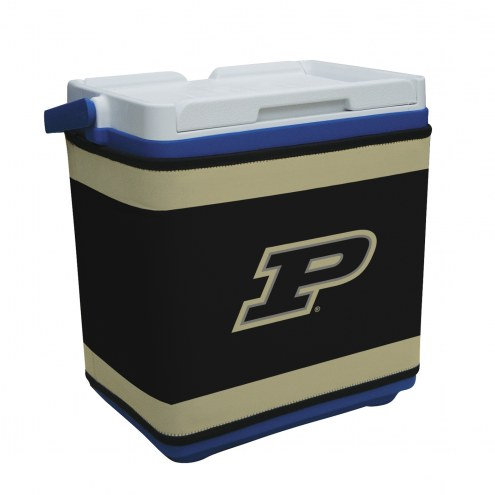 Purdue Boilermakers Rappz 18qt Cooler Cover (Cooler not included)