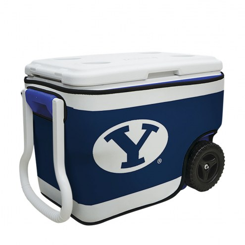 BYU Cougars Rappz 40qt Cooler Cover (Cooler not included)