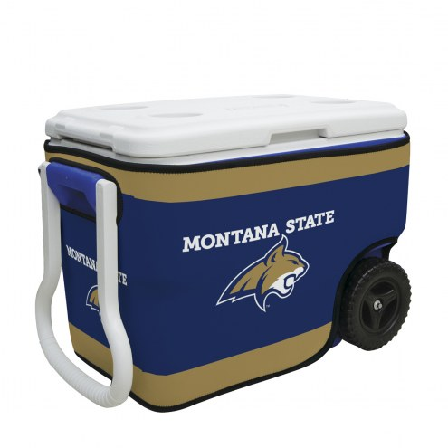 Montana State Bobcats Rappz 40qt Cooler Cover (Cooler not included)