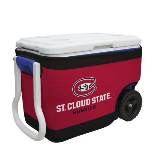 St. Cloud State Huskies Rappz 40qt Cooler Cover (Cooler not included)