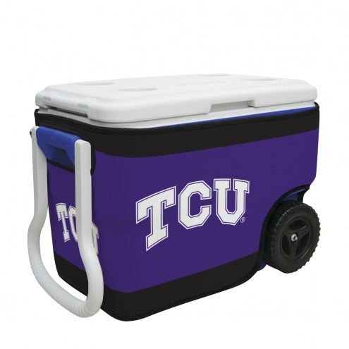 Texas Christian Horned Frogs Rappz 40qt Cooler Cover (Cooler not included)