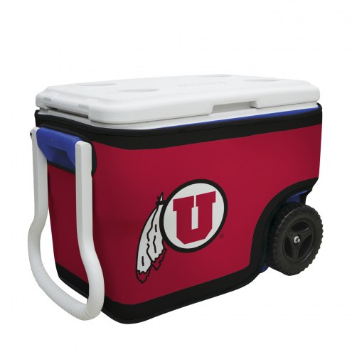 Utah Utes Rappz 40qt Cooler Cover (Cooler not included)