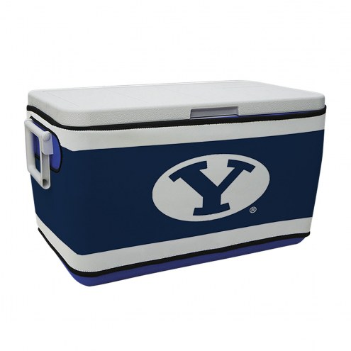 BYU Cougars Rappz 48qt Cooler Cover (Cooler not included)