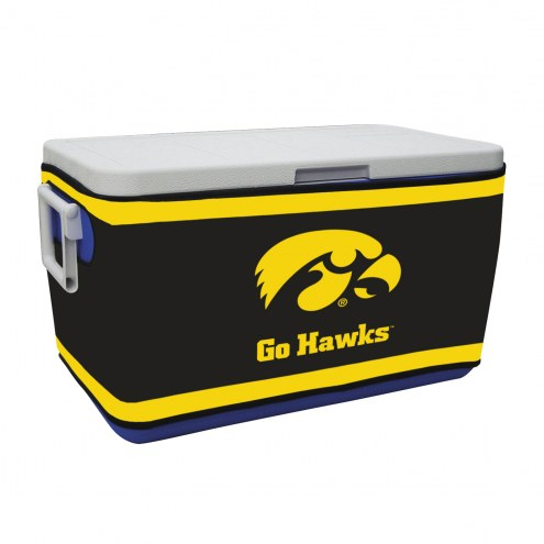 Iowa Hawkeyes Rappz 48qt Cooler Cover (Cooler not included)