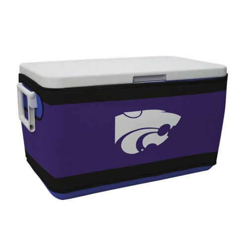 Kansas State Wildcats Rappz 48qt Cooler Cover (Cooler not included)