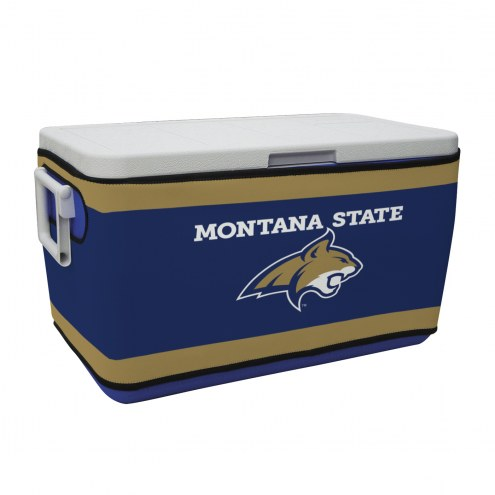 Montana State Bobcats Rappz 48qt Cooler Cover (Cooler not included)