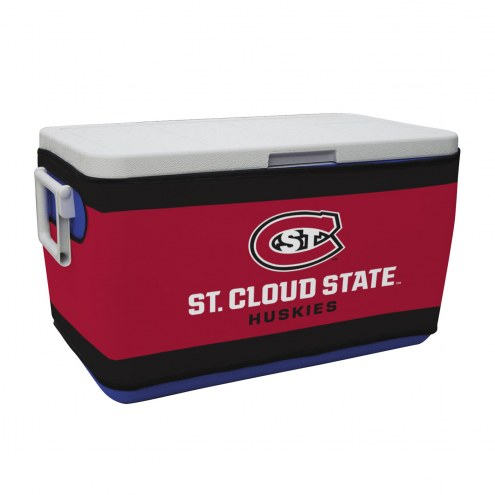 St. Cloud State Huskies Rappz 48qt Cooler Cover (Cooler not included)