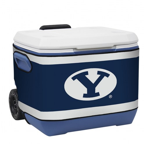 BYU Cougars Rappz 50qt Cooler Cover (Cooler not included)