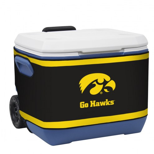 Iowa Hawkeyes Rappz 50qt Cooler Cover (Cooler not included)
