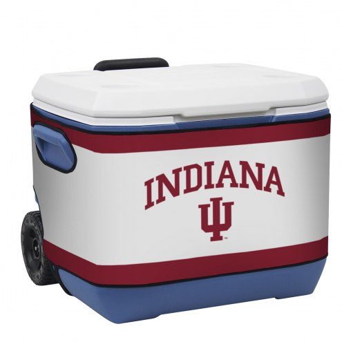 Indiana Hoosiers Rappz 50qt Cooler Cover (Cooler not included)