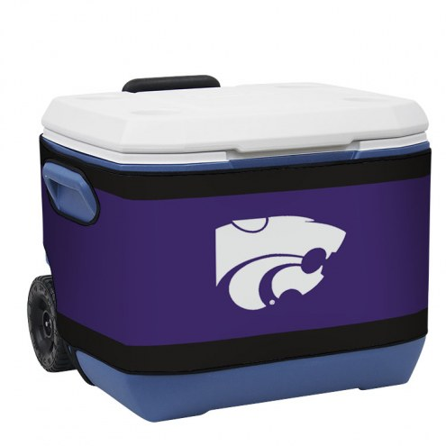 Kansas State Wildcats Rappz 50qt Cooler Cover (Cooler not included)