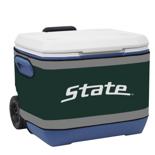 Michigan State Spartans Rappz 50qt Cooler Cover (Cooler not included)
