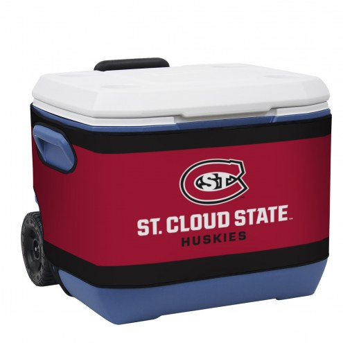 St. Cloud State Huskies Rappz 50qt Cooler Cover (Cooler not included)