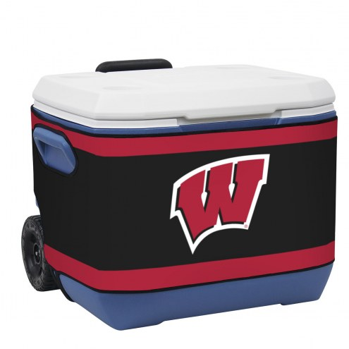 Wisconsin Badgers Rappz 50qt Cooler Cover (Cooler not included)