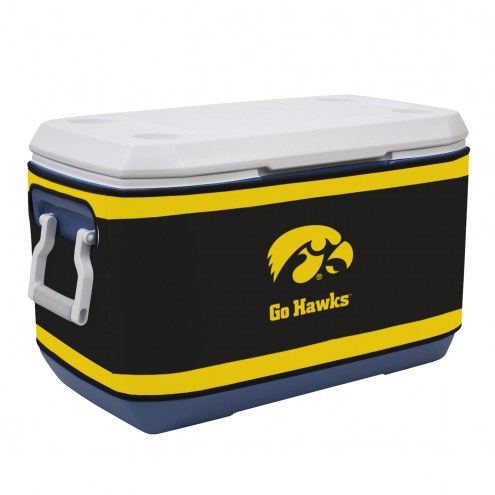 Iowa Hawkeyes Rappz 70qt Cooler Cover (Cooler not included)
