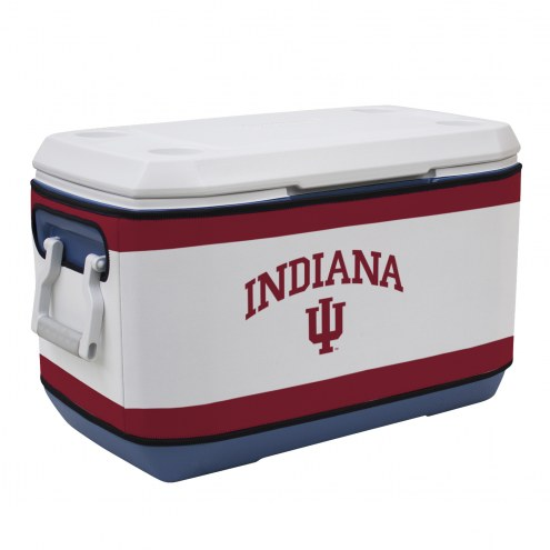 Indiana Hoosiers Rappz 70qt Cooler Cover (Cooler not included)