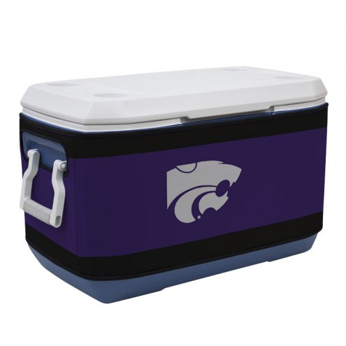 Kansas State Wildcats Rappz 70qt Cooler Cover (Cooler not included)