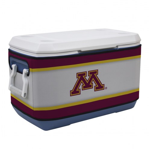 Minnesota Golden Gophers Rappz 70qt Cooler Cover (Cooler not included)