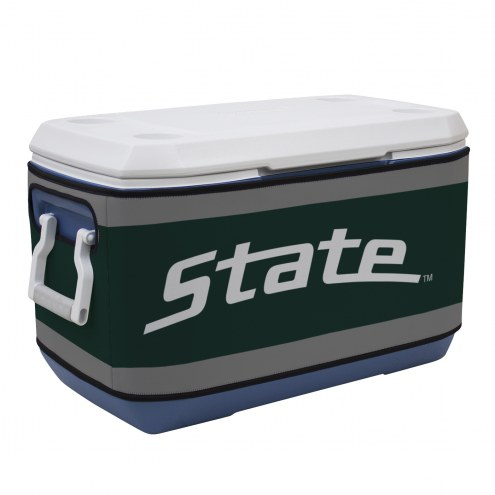 Michigan State Spartans Rappz 70qt Cooler Cover (Cooler not included)