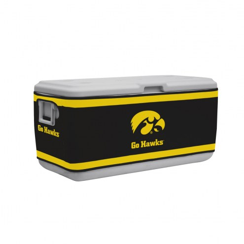 Iowa Hawkeyes Rappz 100qt Cooler Cover (Cooler not included)