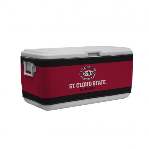 St. Cloud State Huskies Rappz 100qt Cooler Cover (Cooler not included)