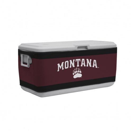 Montana Grizzlies Rappz 100qt Cooler Cover (Cooler not included)